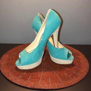 Suede 4'inch heels